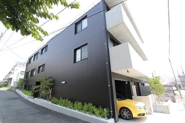 賃貸住宅 新築 屋根・外壁 施工例