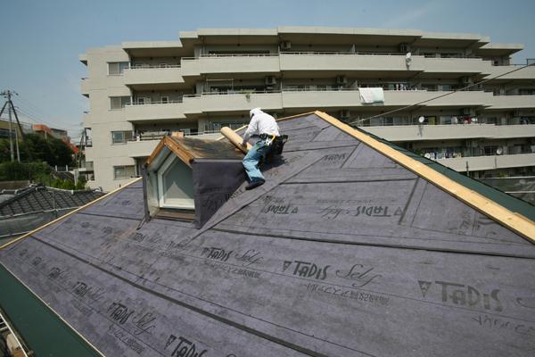 屋根 カバー工法 施工例