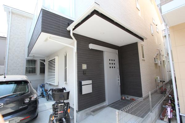 カドアール施工例 03 外装・サイディング
